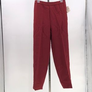 bend over levi strauss co pants maroon vintage 16